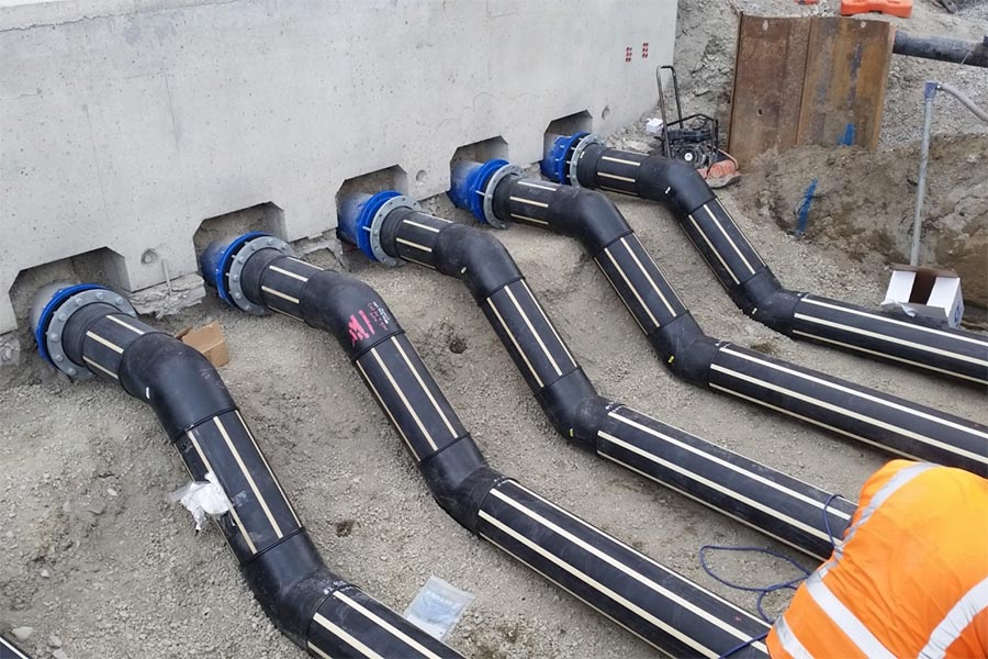 Polyethylene Pipe Welding